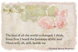 Love Poem - Love Sonnet - Elizabethe Barrett Browning