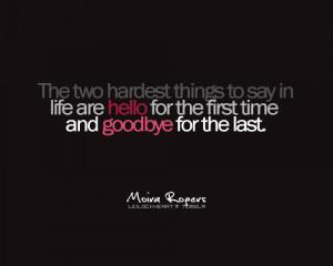 ... goodbye quotes, goodbye cards, quotes saying goodbye, saying goodbye