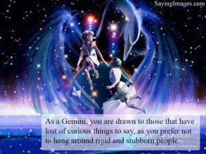 Gemini fact : As a Gemini, you are drawn to those that have lost of ...