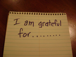 am grateful for sentence