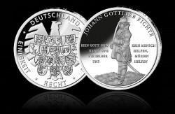 Sonder Gedenkausgabe 250 Geburtstag Johann Gottlieb Fichte