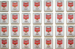 Obra Campbell's Soup Cans é do norte-americano Andy Warhol (Foto ...