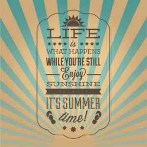 Vintage inspirational summer poster 23.884 91 1 year ago