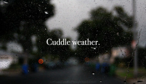 cuddle, cuddle weather, cute, life, love, quote, quotes, rain, text ...