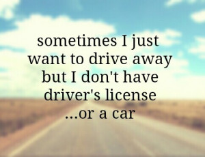 car, clouds, freedom, girls, girls quotes, happiness, love, quotes ...