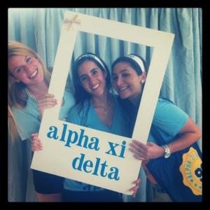 Alpha Xi Delta Bid Day