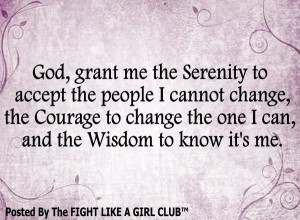 ve always loved the Serenity Prayer....This version is Beautiful.