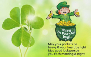 St Patrick's Day Quotes & Sayings