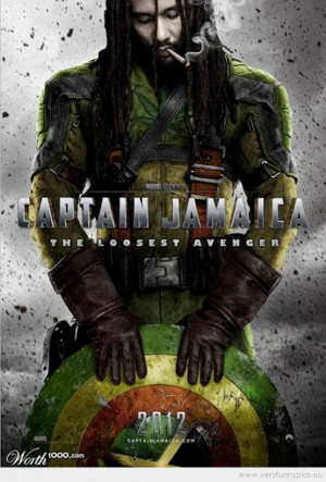 Funny Picture - Captain Jamaica the loosest avenger