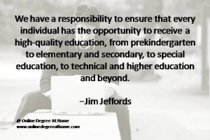 ... Jim Jeffords #Quotesoneducation #Quoteabouteducation www