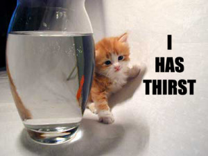 thirsty