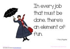 free mary poppins poster element of fun quote more mary poppins plays ...