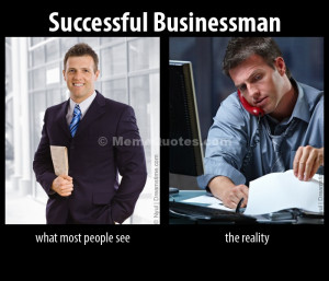 Successful businessman: What most people see vs the reality meme ...