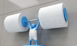 Introducing Mr. T.. heavy weight Toilet Paper stand, 3 colors: Red ...
