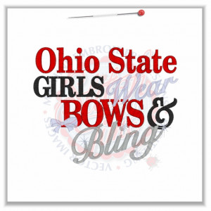 Ohio State Girl Sayings