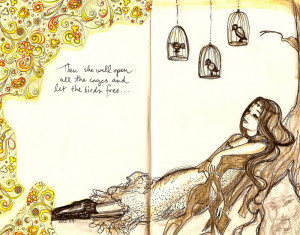 Quotes And Sayings Caged Bird Birds