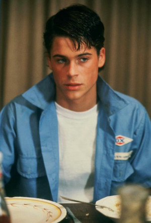 The Outsiders Rob Lowe as Soda Pop: Man Candy, Boys, Rob Low Outside ...