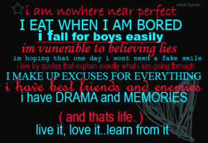 All Graphics » all about me quotes
