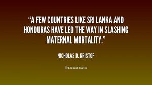 Sri Lanka Quotes