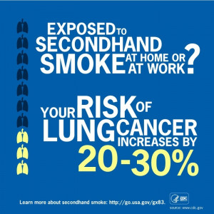 SECOND HAND SMOKE KILLS.