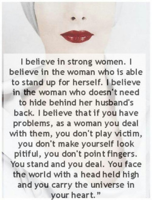 Girl Power Quotes and Pictures / The universe in your heart