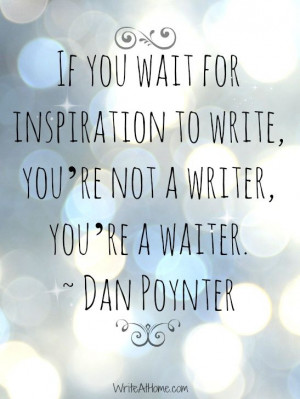 Ruby Manuela: Inspirational Tuesday: Writers quotes