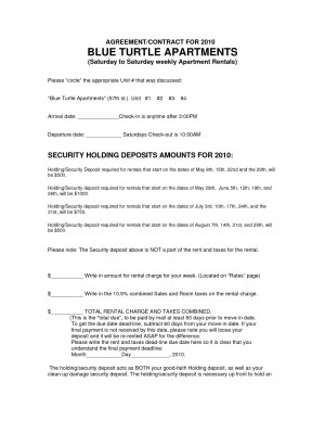 Printable Business Cleaning Contract - PDF by bjc76929