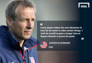 While his comments could be seen as harsh, the U.S. boss chalked up ...