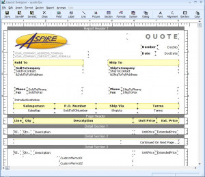 Download QuoteWerks Document Layouts