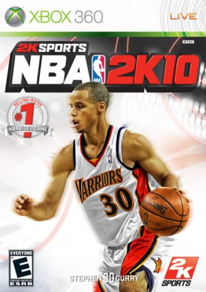 Stephen Curry 2K10 Cover - NBA