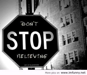 Disney Graffiti, Don't Stop Believing