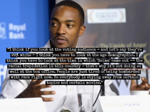 Anthony Mackie On 'Selma' Oscar Snub: People Are Tired Of Being ...