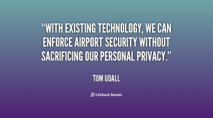 With existing technology, we can enforce airport security without ...