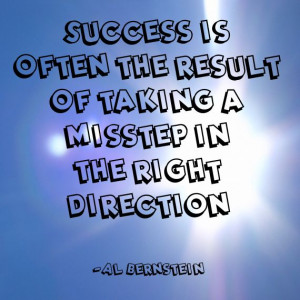 "... taking a misstep in the right direction."" ~Al Bernstein Solo-E.com"