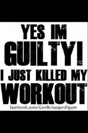 guilty, just killed my workout :)