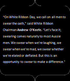 Media should sw%@r this White Ribbon Day