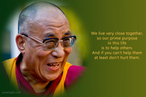 Quotations from His Holiness the Dalai Lama