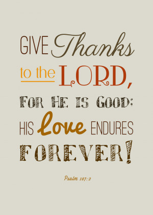 ... this free Thanksgiving Verse Printable from Dancing With My Father