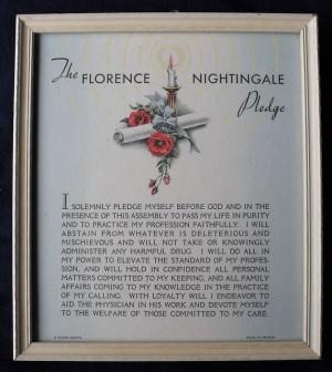 Florence Nightingale Pledge Buzza Prints, Nighting Quotes, Florence ...