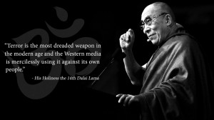 Dalai Lama quote wallpaper