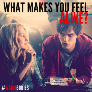 Click here to read a review of Warm Bodies.