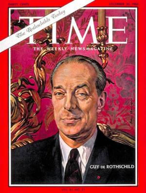 Guy de Rothschild (portada de Time, 1963)