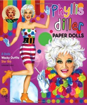 Phyllis Diller Paper Dolls