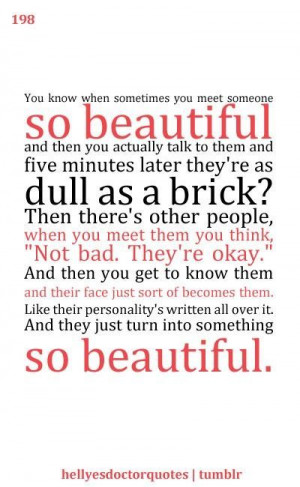 Favorite Doctor Who quote by Amy Pond!