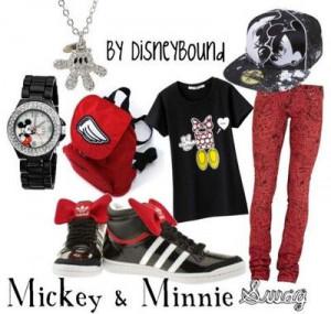 Mickey & Minnie Swag