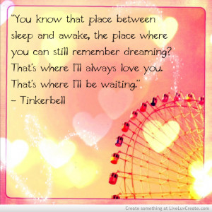 Tinkerbell Quote