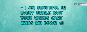 The Words I Am Me