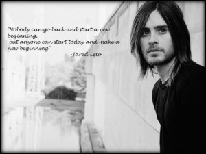 Actor, jared leto, quotes, sayings, purpose, people