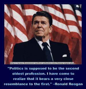 Ronald Reagan: His Humor.