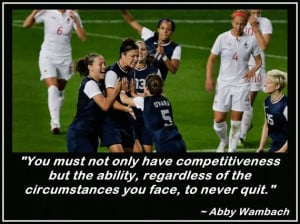 abby wambach quotes soccer